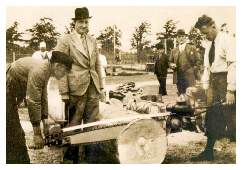 The First Chainsaw
