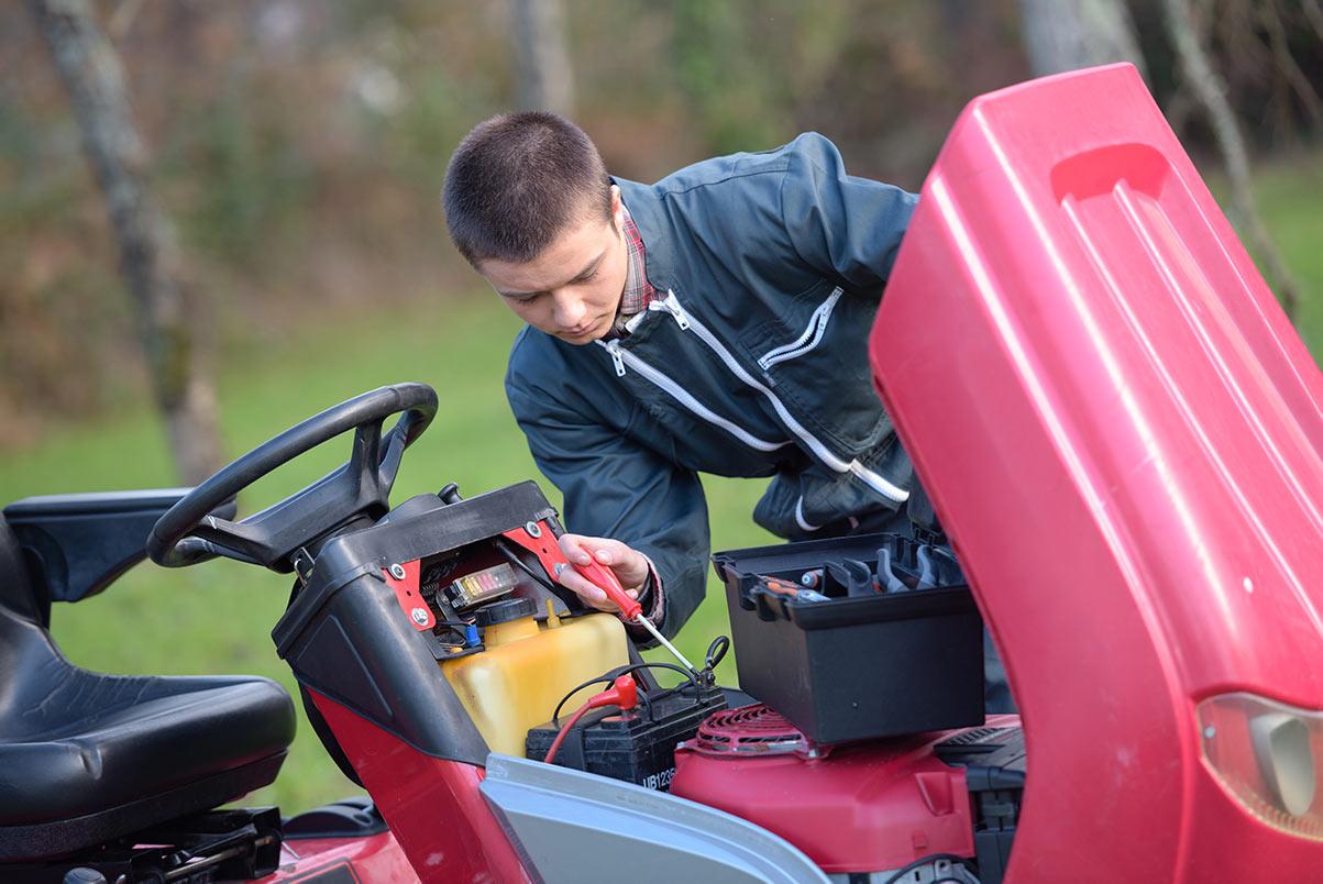 Riding Lawn Mower Maintenance Guide