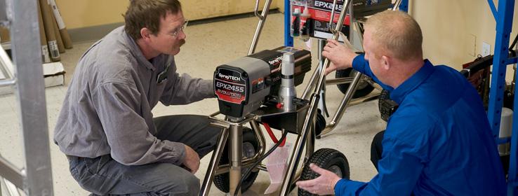 airless paint sprayer maintenance