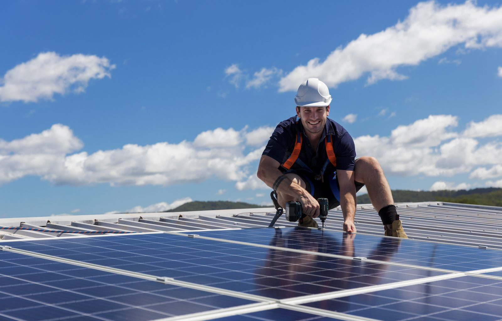 How do solar panels generate electricity