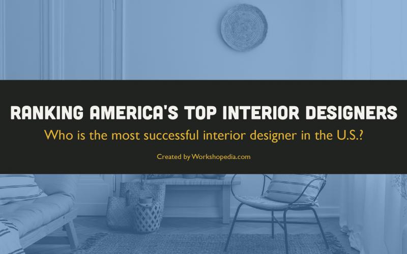 America's Top Interior Designers Ranked