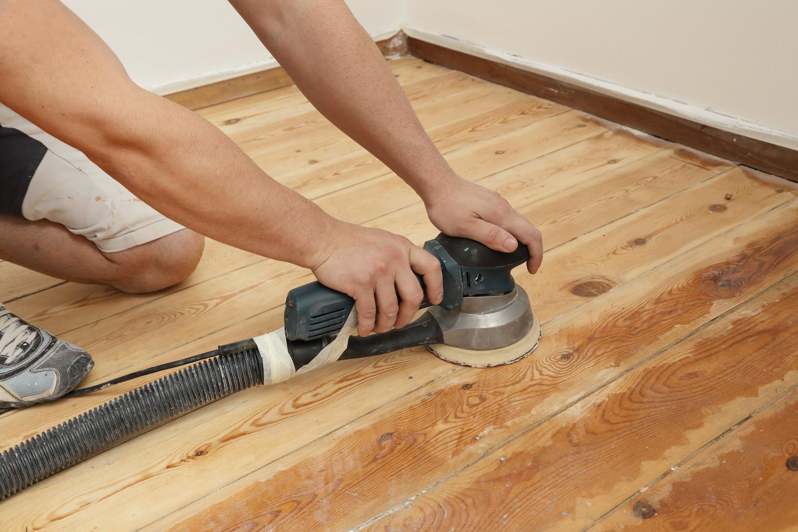 How To Sand Hardwood Floors With An