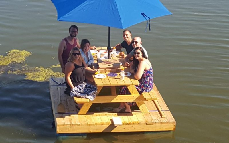Picnic Table Boat Guide