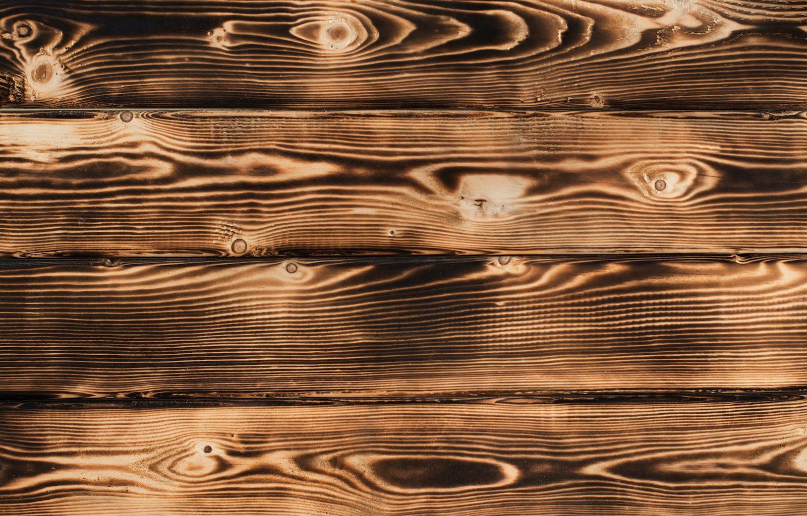 Burnt Wood Effect