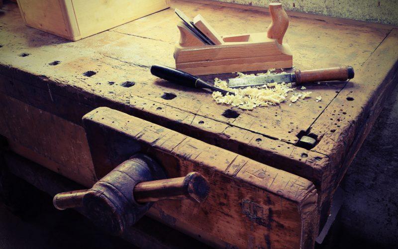 DIY Woodworking Bench Vise