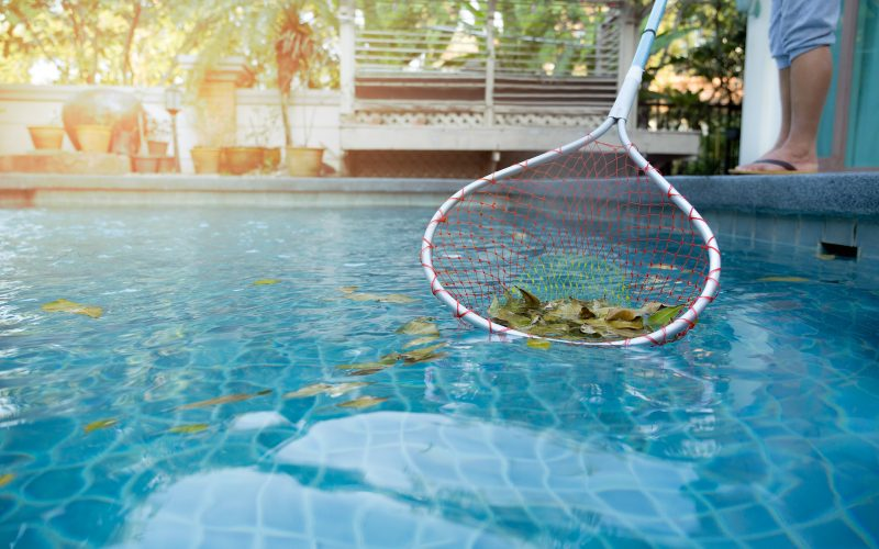 Keep Leaves out of your pool