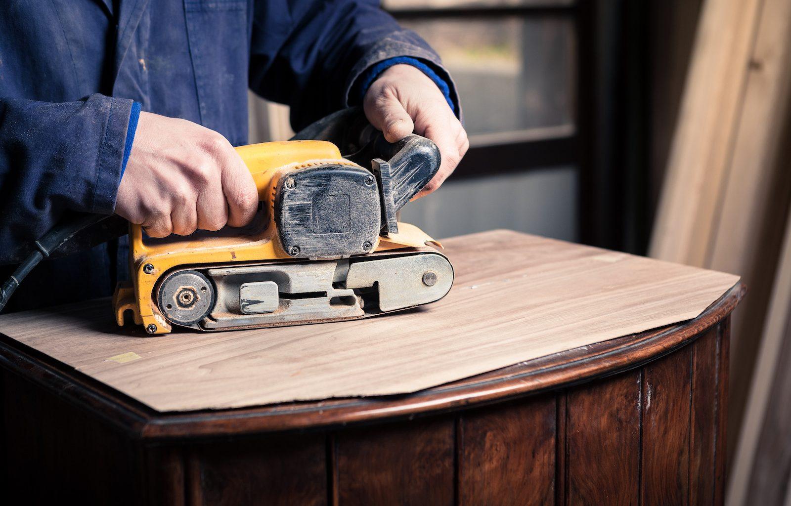 how to repair a belt sander