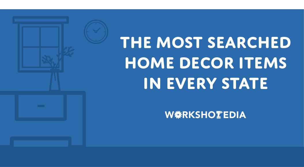 title graphic for the most popular home decor items report