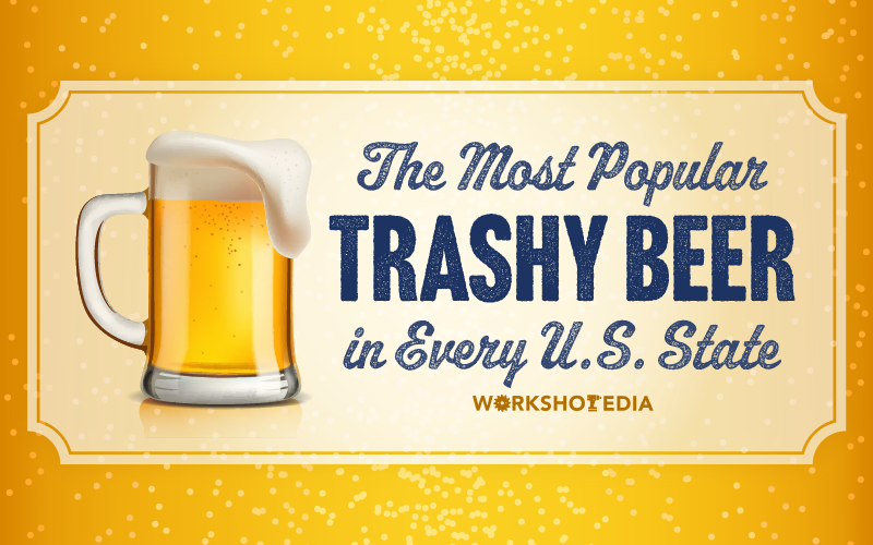 Title graphic for Most Popular Trashy Beer by State